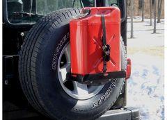 MorRyde Spare Tire Mount w/ Short Tray For 2007-18 Jeep Wrangler JK 2 Door & Unlimited 4 Door Models JP54-004