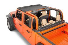 MasterTop Bimini Summer Top for 18+ Jeep Wrangler JL & 20+ Gladiator JT 141JT-
