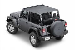 MasterTop Bimini Top Plus for 18+ Jeep Wrangler JL 2-Door 143JL-