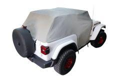 MasterTop Full Door Cab Cover for 18+ Jeep Wrangler JL 11110509