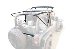 MasterTop Factory Style Bow Replacement Bow Assemblies for 07-18 Jeep Wrangler JK 15433301