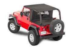 MasterTop Ultimate Summer Combo in MasterTwill Fabric for 04-06 Jeep Wrangler TJ Unlimited 11122TLJ-