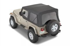 QuadraTop Premium Special Edition Replacement Soft Top for 88-95 Jeep Wrangler YJ 11000YJSP-