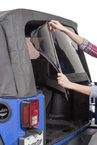 MasterTop Replacement Rear Window for 07-18 Jeep Wrangler JK, JKU with Original Mopar Soft Top 160133-