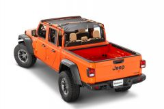 MasterTop ShadeMaker Freedom Mesh Bimini Top Plus For 20+ Jeep Gladiator JT 14017JT-