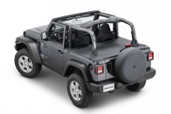 MasterTop Tonneau Cover for 18+ Jeep Wrangler JL 2-Door 14500JL-