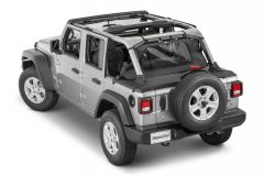 MasterTop Tonneau Cover for 18+ Jeep Wrangler JL Unlimited 145002JLU-
