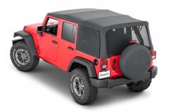 MasterTop Mesh Trail Screens for 10-18 Jeep Wrangler JK Unlimited 16032401
