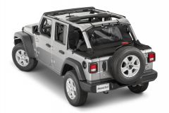MasterTop Wind Stopper & Tonneau Cover Combo Kit for 18+ Jeep Wrangler JL Unlimited 144416JLU-