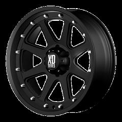KMC XD798 Addict Matte Black Wheel 17x9 5X5 w/4.50BS XD79879050712N