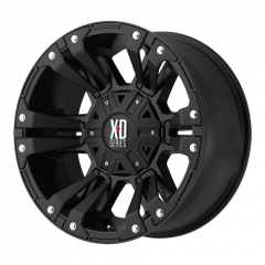 KMC XD822 Monster II Black Matte 17x9 5X5 w/4.53BS XD82279050712N