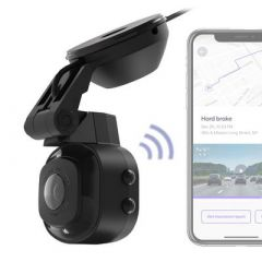 Scosche NEXC1 Full HD Smart Windshield Dash Cam with Suction Cup Mount (16GB Micro-SD) - NEXC11016-SP1
