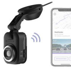 Scosche NEXC1 Full HD Smart Dash Cam with Suction Cup Mount (64GB Micro-SD) NEXS11064-ET