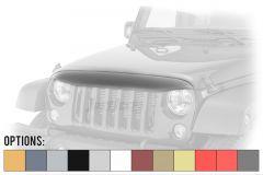 Rugged Ridge NightHawk Light Brow For 2007-18 Jeep Wrangler JK 2 Door & Unlimited 4 Door Models 12034.41-