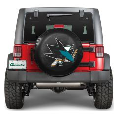 """NHL San Jose Sharks Official Tire Cover (Large 30"""" to 33"""") 88325"""