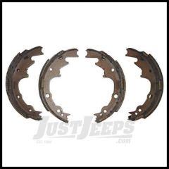 Omix-ADA Brake Shoe Set Rear For 2001-06 Wrangler TJ, 2001 Cherokee XJ With 9 Inch Brakes 16726.07