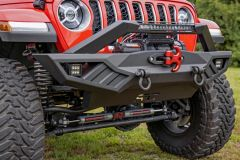 Rough Country Full Width Off-Road Front Bumper for 2007-2020+ Jeep Wrangler JK, JL & Gladiator JT