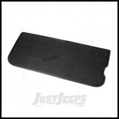 Omix-ADA Door Panel Left Black Vinyl For 1982-95 Jeep CJ Series & Wrangler YJ 11840.01