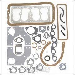Omix-ADA Engine Gasket & Seal Kit For 1941-52 Jeep CJ Series With 4 Cyl 134 L-Head No Crankshaft Seal 17440.10