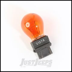 Omix-ADA Replacement Parking Light Bulb In Amber For 2000-10 Jeep Grand Cherokee Models - #3157A 12408.09