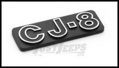 Omix-ADA Jeep CJ8 Emblem Stick On Officially Licensed OE For 1981-86 Jeep CJ8 Scrambler DMC-5758601