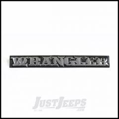 Omix-ADA Wrangler Emblem For 1987-90 Jeep Wrangler YJ DMC-55010768