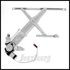 Omix-ADA Power Rear Drivers Window Regulator For 2007+ Jeep Wrangler & Wrangler Unlimited JK 11821.23