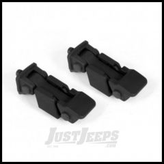 Omix-ADA Hood Catch W/ Bracket OE Style For 2007+ Jeep Wrangler & Wrangler Unlimited JK (Pair) 11210.16