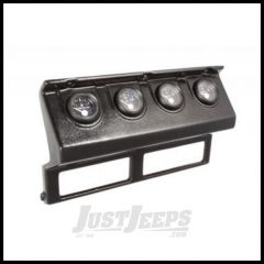 Omix-ADA Gauge Cluster Black Aftermarket For 1987-90 Jeep Wrangler YJ 17206.12