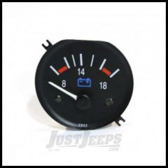 Omix-ADA Voltmeter Gauge For 1987-91 Jeep Wrangler 17210.12