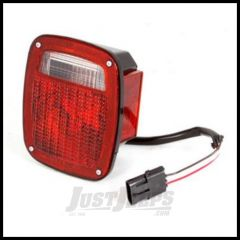 Omix-ADA Tail Light With Black Housing Right Hand For 1987-90 Jeep Wrangler 12403.12