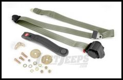 Omix-ADA Seat Belt Front 3 Point Shoulder Harness In Olive Drab For Universal Applications 13202.42