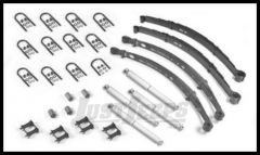 Omix-ADA Master Rebuilder Leaf Spring Kit For 1982-86 Jeep CJ Series 18290.05