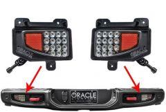 Oracle Lighting Rear Bumper LED Reverse Lights For 20+ Jeep Gladiator JT 5878-