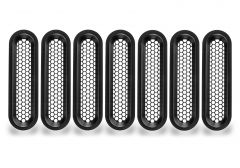 Oracle Lighting Vertical Mesh Inserts for Vector Grille for 07-18 Jeep Wrangler JK, JKU with Vector Grille 5840-504