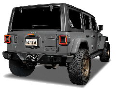 Oracle Third Brake LED Light For 2018+ Jeep Wrangler JL 2 Door & Unlimited 4 Door Models 5854-504