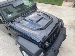 Overtread Doran Hood Mesh Side Vents for 18+ Jeep Wrangler JL & 20+ Gladiator JT 19067