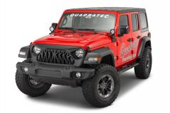Overtread Inyo Front Grille for 18+ Jeep Wrangler JL & Gladiator JT 19029