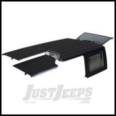 MOPAR Hardtop 3 Piece Freedom Top Black 2009-18 Jeep Wrangler JK Unlimited 4 Door Models 82212527