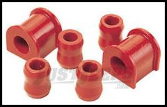 """Energy Suspension 1 1/8"""" Sway Bar Bushings in Red For 87-95 Jeep Wrangler YJ 2.5107R"""