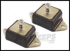 Energy Suspension Motor Mounts in Black For 72-86 Jeep CJ (Each) 2.1102G