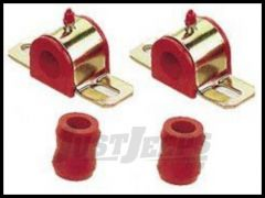 Energy Suspension Front Sway Bar Bushing Set in Red For 1997-06 Jeep Wrangler TJ 2.5110R