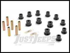 Energy Suspension Front or Rear Factory Shackle Spring Bushings Black For 87-95 Jeep Wrangler YJ 2.2107G