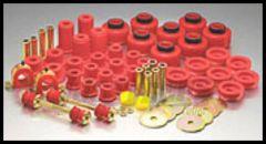 Energy Suspension Hyper Flex Master Bushing Set In Red For 1987-1995 Jeep Wrangler YJ 2.18101R