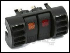 Daystar Dash Vent Switch Panel 1997-06 TJ Wrangler, Rubicon and Unlimited 1997-01 XJ Cherokee KJ71032