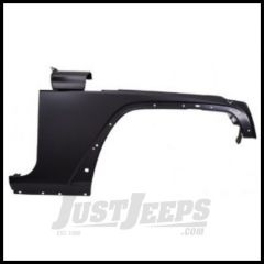CC Replacement Steel Passenger Side Fender for 07+ Jeep Wrangler JK and Unlimited CH1241257C