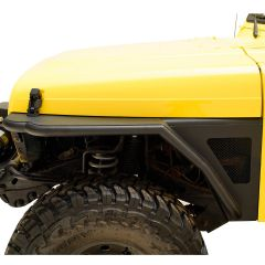 Paramount Automotive Steel Front Fender with Flare & LED Turn Signal for 97-06 Jeep Wrangler TJ & Unlimited TJ 51-0042