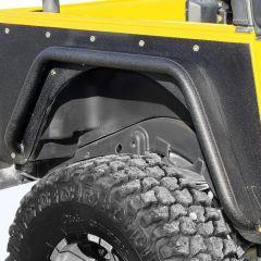 Paramount Automotive Armor Rear Tube Fender Flares for 97-06 Jeep Wrangler TJ 51-0044