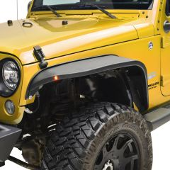 Paramount Automotive R-5 Canyon Off-Road Front Fender Flares with LED for 07-18 Jeep Wrangler JK & Unlimited JK 51-0710