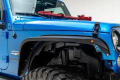 Paramount Automotive Front Inner Fender Liners for 07-18 Jeep Wrangler JK & Unlimited JK 81-11200